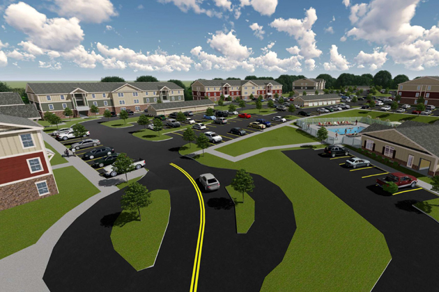 Kodiak Crossing property rendering